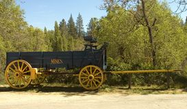 De wagen van de pionier Stock Foto's