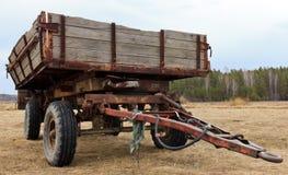 De wagen van de tractor Royalty-vrije Stock Foto