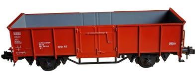 De wagen van de trein stock afbeelding