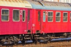 De wagen van de trein Royalty-vrije Stock Foto's