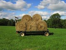 De Wagen van het hooi royalty-vrije stock afbeelding