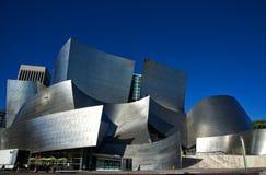 De Walt Disney Concert Hall baixa dentro de Los Angeles imagens de stock royalty free