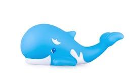 De walvis van het stuk speelgoed Stock Afbeeldingen