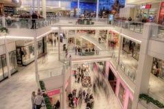 De Wandelgalerij van Amerika is Major Shopping Center in Tweelingcitie royalty-vrije stock afbeeldingen