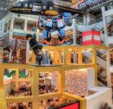 De Wandelgalerij van Amerika is Major Shopping Center in Tweelingcitie stock foto