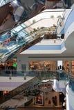 De Wandelgalerij van de jachthaven, Abu Dhabi Stock Afbeelding