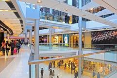 De wandelgalerij van Ifc, Hongkong Stock Foto's