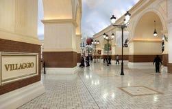 De Wandelgalerij van Villaggio in Doha, Qatar Royalty-vrije Stock Afbeelding