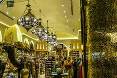 De Wandelgalerijwinkel van Doubai royalty-vrije stock afbeelding