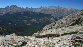 De wandeling van Corsica Royalty-vrije Stock Foto's