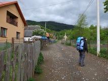 De wandeling van de berg Stock Fotografie