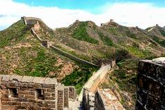 De wandeling van de Grote Muur Stock Foto's