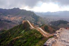 De wandeling van de Grote Muur Stock Fotografie