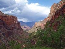 De wandeling van Grand Canyon Stock Afbeelding