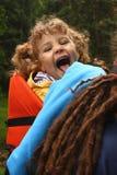 De wandeling van het kind Royalty-vrije Stock Afbeeldingen