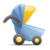 De Wandelwagen van de baby Royalty-vrije Stock Afbeeldingen