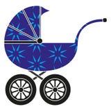 De wandelwagen van de baby vector illustratie