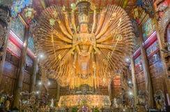 De Wapens van Boedha ` s, Kanchanaburi Royalty-vrije Stock Foto's
