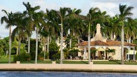 In de war brengen-a-Lago toevlucht, Palm Beach, Florida Stock Fotografie