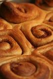 De warme Broodjes van de Kaneel Royalty-vrije Stock Fotografie