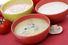De warme fondue van de kaas Stock Foto