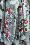 De warme wol mept met de hand gemaakt Royalty-vrije Stock Foto's