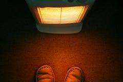 De Warmte van de verwarmer Stock Foto's