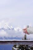 De warmte van de winter Stock Foto's
