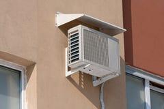 De warmtepomp van de airconditioning Stock Afbeelding
