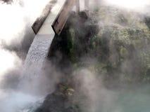 De warmwaterbron van Kusatsu, Japan stock foto