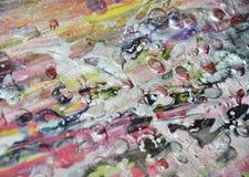 De wasachtige vage zilveren achtergrond van de pastelkleurverf op gebrande textuur Stock Afbeeldingen