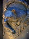De Wasbeer van het metaal Stock Afbeeldingen