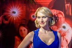 De Wasmuseum van Kate Winslet Figurine At Madame Tussauds royalty-vrije stock foto