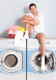De wasserijkleren van de was Royalty-vrije Stock Fotografie