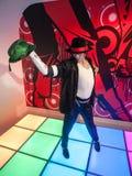 De wasstandbeeld van Michael Jackson Stock Afbeeldingen