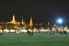 De Wat kaew pre en la noche Fotos de archivo