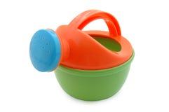 De water geven-pottenstuk speelgoed van het kind. Royalty-vrije Stock Fotografie
