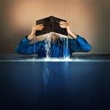 De wateren van de bijbelvloed stock afbeeldingen