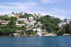 De Waterkant van Acapulco Stock Fotografie