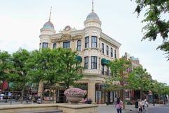 De Waterkant van Amerika in Tokyo DisneySea Royalty-vrije Stock Fotografie