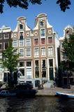 De waterkant van Amsterdam royalty-vrije stock afbeeldingen