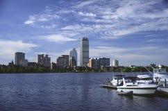 De waterkant van Boston Stock Afbeeldingen