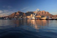 De Waterkant van Cape Town Stock Foto's