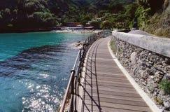 De waterkant van de promenade Royalty-vrije Stock Fotografie