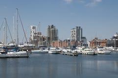 De waterkant van Ipswich Royalty-vrije Stock Afbeeldingen