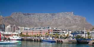 De waterkant van Kaapstad en lijstBerg Royalty-vrije Stock Fotografie