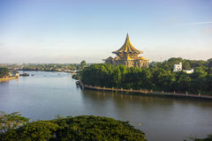 De Waterkant van Kuching Royalty-vrije Stock Afbeelding