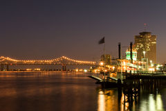 De waterkant van New Orleans