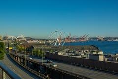 De Waterkant van Seattle Royalty-vrije Stock Afbeeldingen