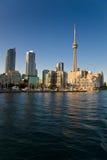 De waterkant van Toronto stock foto